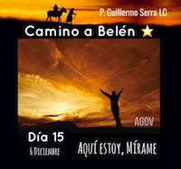 """33 Días camino hacia Belén: Sal de Tú Cielo (Día 15) """"P. Guillermo Serra, L.C.)"""