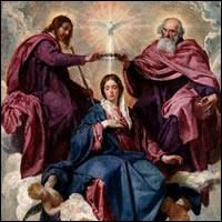 La Coronación de la Virgen de Velázquez