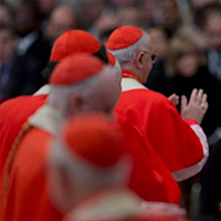 Pope meets with Italian Bishops