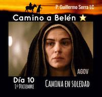"""33 Días camino hacia Belén: Sal de Tú Cielo """"Día 10""""  (P. Guillermo Serra L.C.)"""
