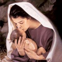 Con María, levantando el corazón…