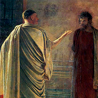 Poncio Pilato ¿culpable o inocente?
