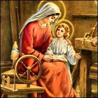María, la Virgen trabajadora