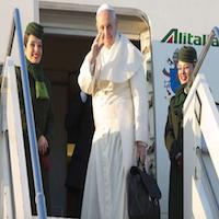 Perú y Chile: El Papa ya despego