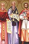 Pedro, Doroteo y Gorgonio, Santos