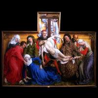 El Descendimiento de la Cruz de Van der Weyden