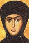 Teodosia de Cesarea, Santa