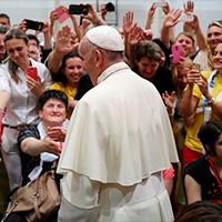 El Papa a los jóvenes: 'Hagan misión, pero no adjetiven a las personas'
