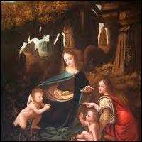 La Virgen de las Rocas Leonardo de Da Vinci