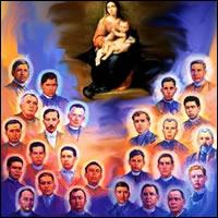 Cristóbal Magallanes y 24 compañeros, Santos
