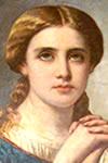 Solange de Bourges, Santa