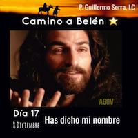 """33 Días camino hacia Belén: Sal de Tú Cielo, (Día 17) """"Padre Guillermo Serra, L..C."""""""