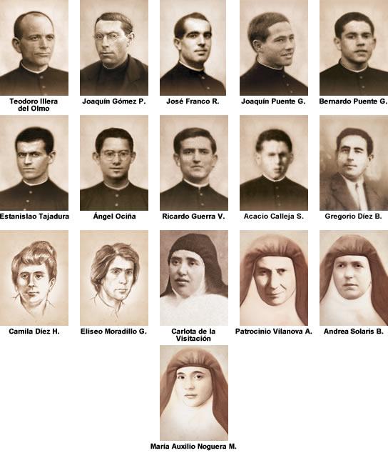 16 mártires de Barcelona