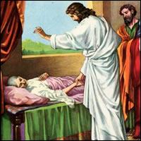 Jesús ha vendo a curar a la humanidad que sufre