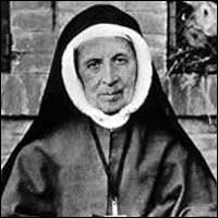 María Teresa Couderc, Santa