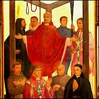 Rogelio Dickenson, Raúl Milner y Lorenzo Humphrey, Beatos