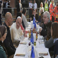 Pope invites prisoners to lunch