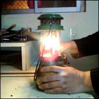 Tengan encendidas las lámparas