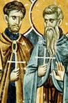 Basilio de Constantinopla  y Procopio Decapolita, Santos