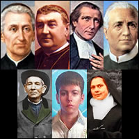 Quienes son los siete  nuevos  Santos de la Iglesia Católica