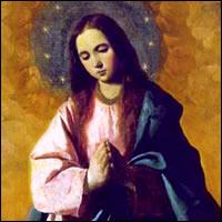 La Inmaculada Concepción de la bienaventurada Virgen María