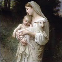 La Inocencia de William-Adolphe Bouguereau