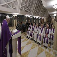 St. Joseph raises Jesus in silence