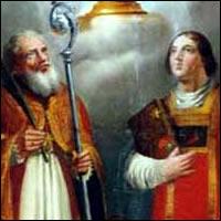 Fortunato y Hermágoras, Santos