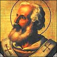 Agapito I, Santo