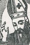 León Lucas, Santo
