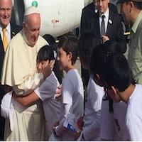 El Papa Francisco llegó a Temuco, en su tercer día de visita a Chile