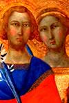 Víctor y Corona, Santos