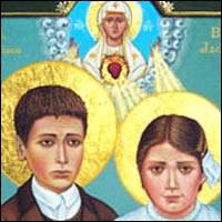 Francisco y Jacinta Marto, Santos