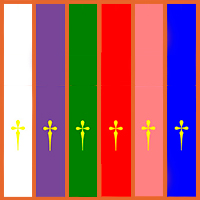 Aci Prensa Calendario.Catholic Net Que Significan Los Colores Liturgicos Y