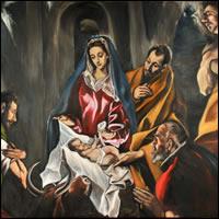 La Adoración de los Pastores de El Greco