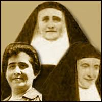 Sofía Ximénez X., María de la Purificación de San José Ximénez y María Josefa del Río Messa, Beatas