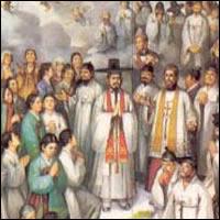 103 mártires de Corea, Santos