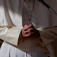 Papa Francisco pide pensar en el hermano que sufre