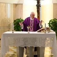 El Papa en Santa Marta agradece a los que se preocupan por quienes están en dificultad
