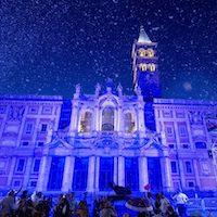 Basílica Santa María La Mayor: El milagro de la nieve será dedicado al Papa