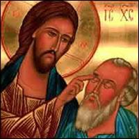 Resultado de imagen de fotos del ciego con jesús