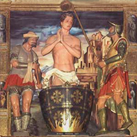 La historia del martirio del apóstol San Juan
