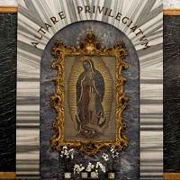 Esta es la imagen más antigua de la Virgen de Guadalupe en Roma
