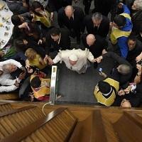 1500 pobres almorzaron con el Papa Francisco