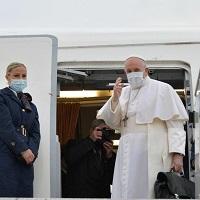 El Papa inicia su viaje a Iraq