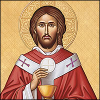 Jesús tomó el pan, dio gracias... Y se quedó conmigo para siempre