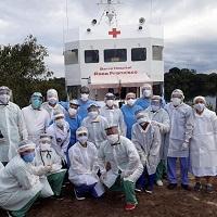 Barco hospital «Papa Francisco» ha hecho «milagros» durante la pandemia