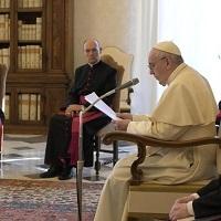 En noviembre, las Audiencias Generales en la Biblioteca del Palacio Apostólico