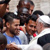 El Papa: emblema de la exclusión de hoy