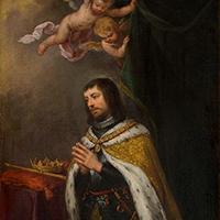 Resultado de imagen de San Fernando y su visión de la Virgen de los Reyes